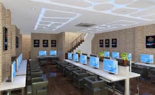 Cyber Cafe Design Interior Image Gallery Internet Cafe Design