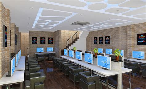 Interior Design For Net Cafe | interior lighting design ideas for internet cafe