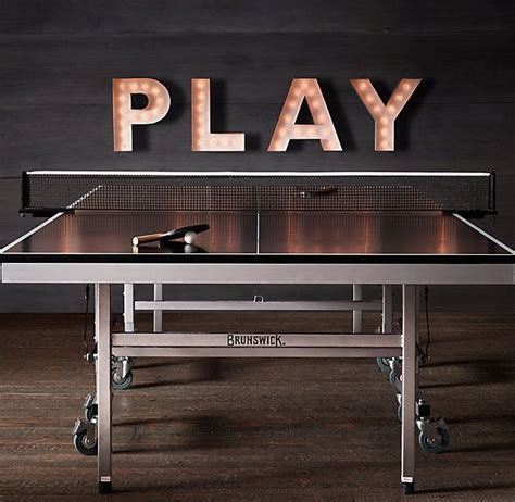 ping pong table in garage table tennis after a bit of research thousands less