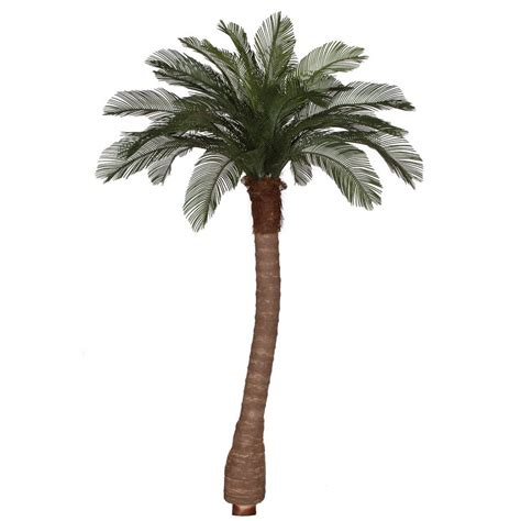 artificial bare trees 8 foot artificial outdoor cycas palm tree ribbed synthetic trunk 24 fronds a 154360