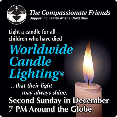 memorial candle lighting program