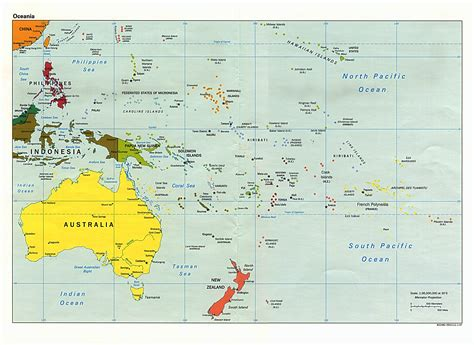 map of oceania australia and the pacific maps perry casta 241 eda map collection ut library