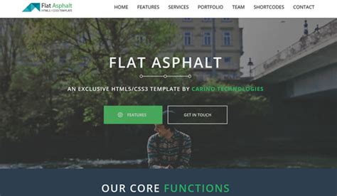 interact free one page bootstrap template bootstrap 25 free twitter bootstrap templates web design beat