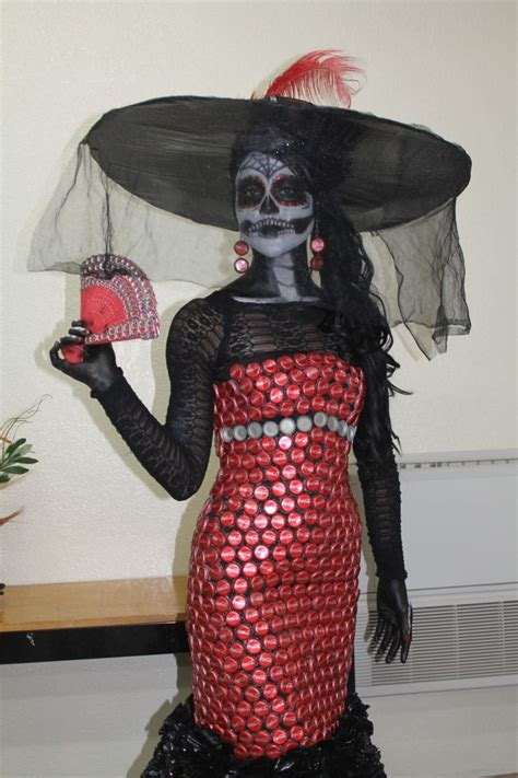 traje de fantasia con material reciclado trajes de fantasia con material reciclable faciles de