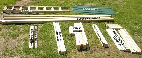 How To Build A Deer Blind Cheap Lumber Cutting Instructions For Homemade Deer Hunting Box