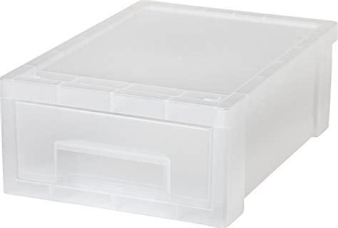 iris small stacking drawer iris small desktop stacking drawer 6 pack import it all