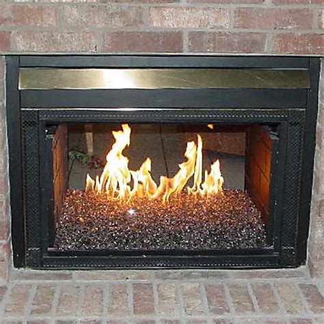 Gas Fireplace Inserts Glass Rocks by Fireplace Burner Fireglass Dfw Mustangs