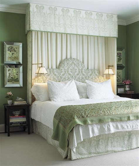 green and white bedrooms white and green bedroom traditional bedroom farrow