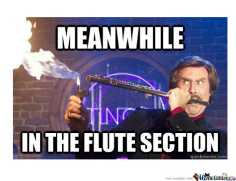 Flute Memes - in the flute section by pandawanda meme center