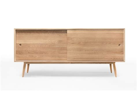 mobile basso per ingresso oak mobile da soggiorno in legno con ante scorrevoli