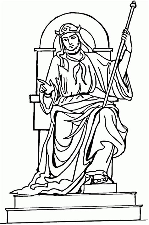 king solomon coloring page coloring home