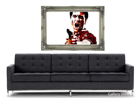 scarface wall mural al pacino wall murals decals