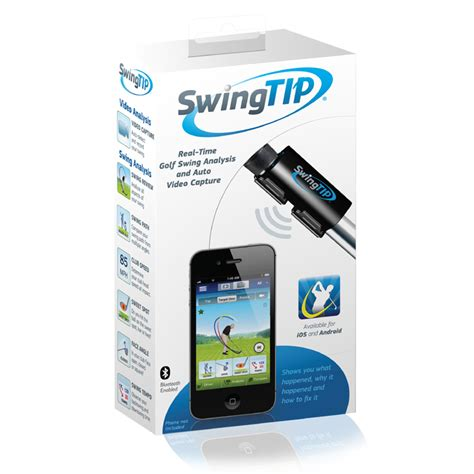 golf club swing analyzer swingtip wireless golf swing analyzer new ebay