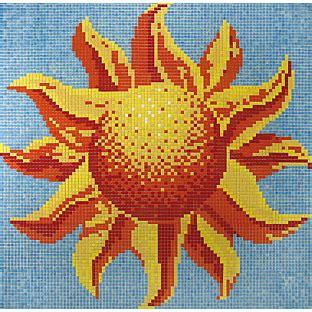 Disegni Per Mosaico by Disegno In Mosaico Sole