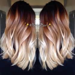 two color hair two toned hair color ideas hairstyles