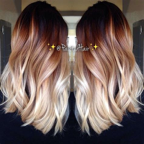 tri layer of dying hair 10 two tone hair colour ideas to dye for ombre ombre