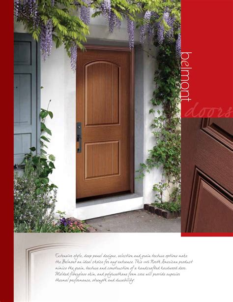 Steel Or Fiberglass Front Door Front Entry Door Systems Steel Fiberglass Trutech Trubilt Eurostar Windows And Doors