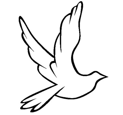 Dove Of Peace In Flight Coloring Page Coloringcrew Com Peace Dove Coloring Page
