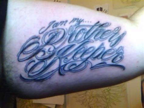 i am my brother s keeper tattoo designs i am my s keeper tattoos best