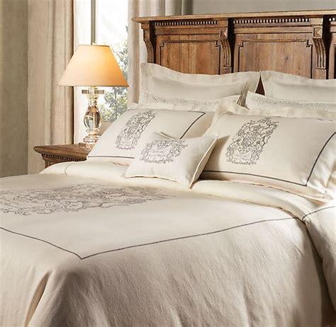 restoration hardware comforter linen bedding at restoration hardware bedding chic