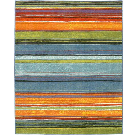 10 X 10 Ft Square Rug - mohawk home rainbow multi 10 ft x 10 ft square area rug