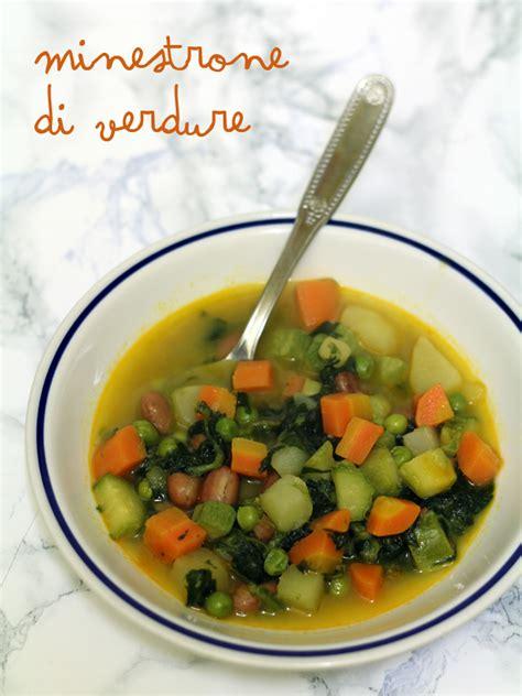 cucinare minestrone minestrone di verdure la cucina dello stivale