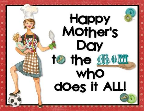 mothers card template s day crafts social media and tech