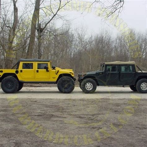 hummer h1 lift hummer h1 stage iii big duckル lift kit complete