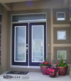 Modern Exterior Front Doors With Glass Decorative Door Designs Modern Front Doors Other Metro By Mpd Glass Vinyl Graphics