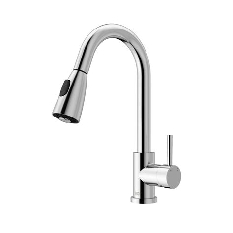 vigo single handle pull out sprayer kitchen faucet in