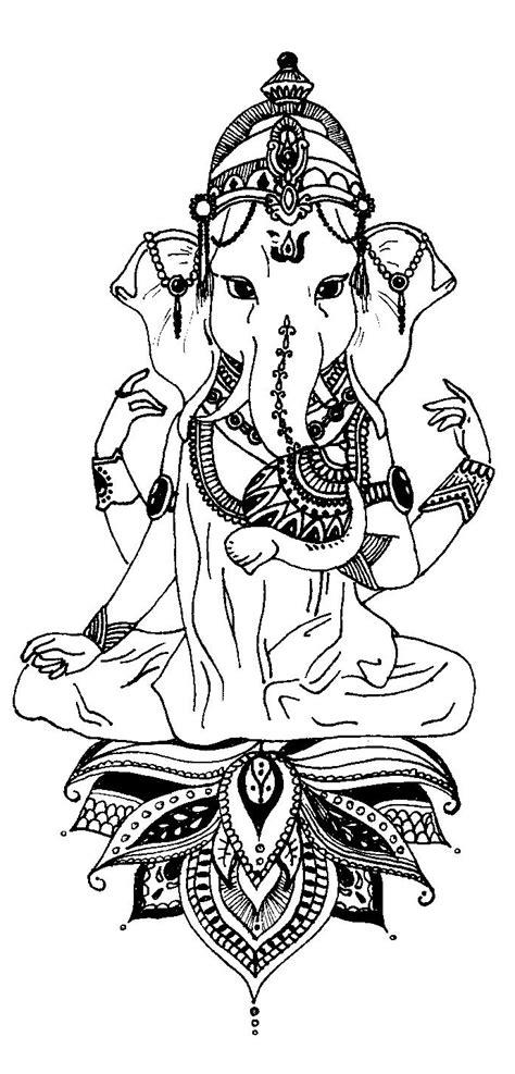 ganesh tattoo deviantart ganesh tattoo by grisouicsh on deviantart