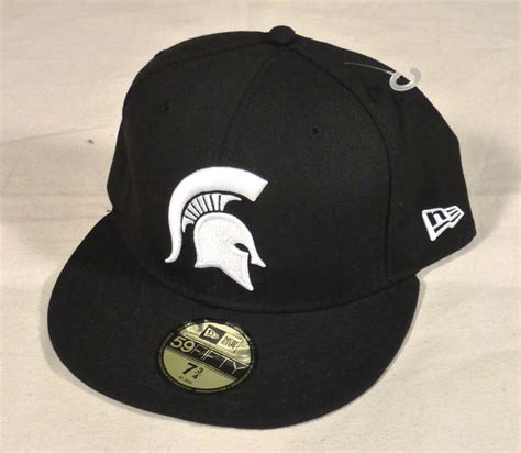 michigan state spartans new era 59fifty fitted