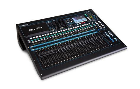 Mixer Audio Allen Allen Heath Qu 24 30 In 24 Out Digital Audio Mixer