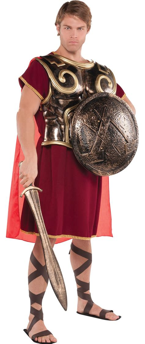 Halloween Decorations Home Made by Men S Roman Soldier Costume Accessories Party City