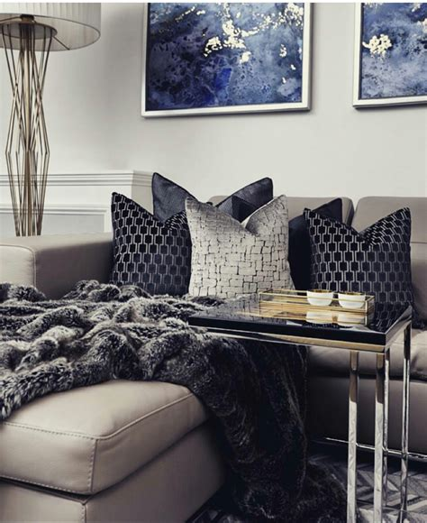 navy blue living room grey and navy blue living room