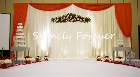 wedding backdrop design red wedding dresses free shipping picture more detailed