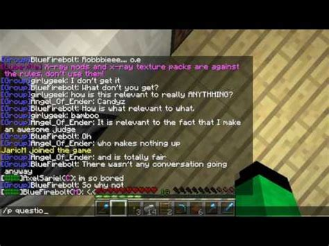 minecraft chat room chat moments minecraft cubeville