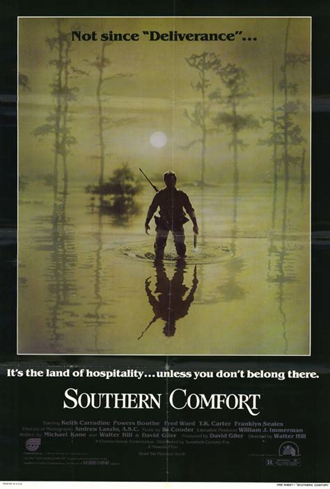 southern comfort walter hill southern comfort movie posters from movie poster shop