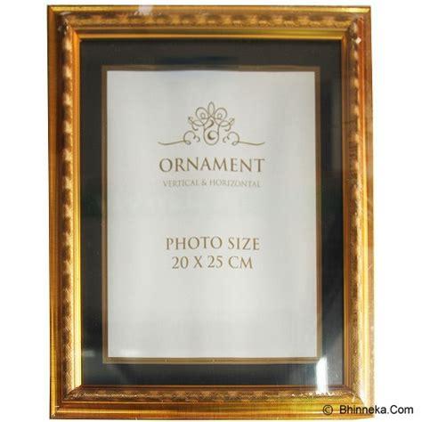 Frame Foto Bingkai Foto Family Mewah Murah jual ornament bingkai frame foto 8r gold murah bhinneka