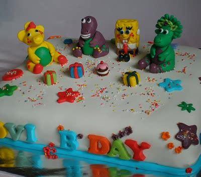 Coklat Karakter Lucu Spongebob say with cake january 2011