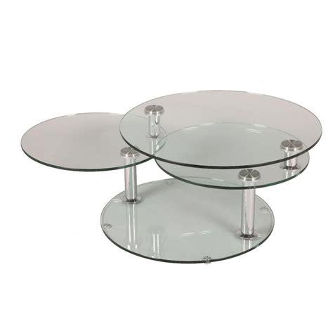 table basse en verre modulable ezooq