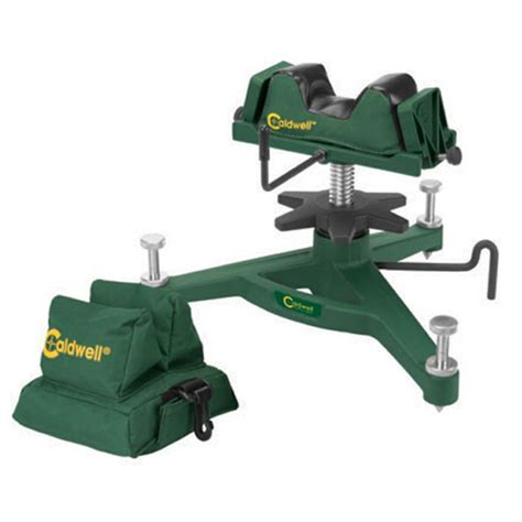 shooting bench rest reviews caldwell the rock dlx shooting rest rear bag combo