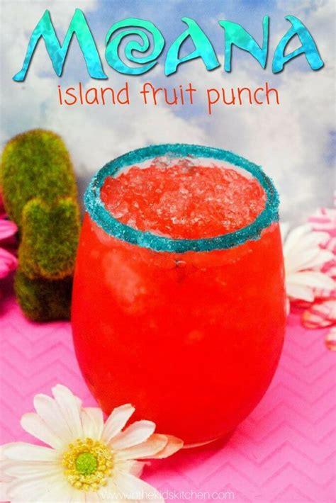Kitchen Island Ideas Pinterest Moana Hawaiian Punch Recipe In The Kids Kitchen