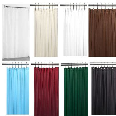 Solid Color Curtains Solid Color Fabric Shower Curtain Liner