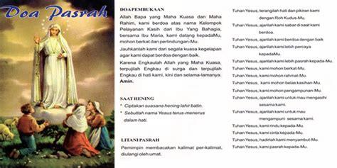 Pasrah Dalam Doa doa mukjizat yesus