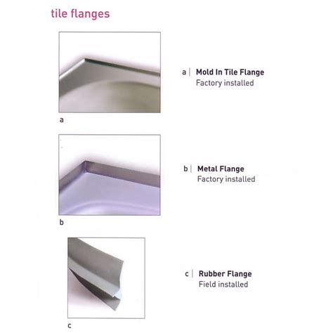 Tile Flange For Bathtub by Bathtub Tiling Flange