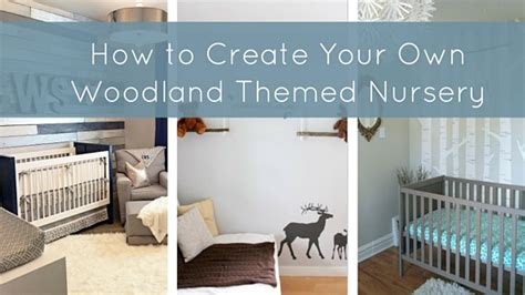 how to design your home how to create your own woodland themed nursery