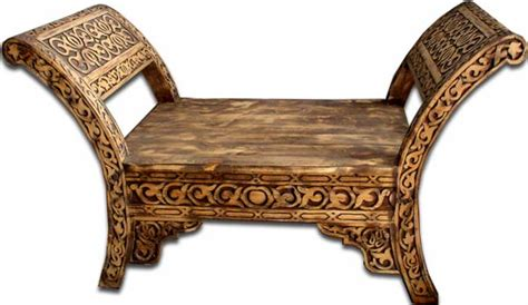 moroccan chair moorish moroccan carved furniture moroccan carved bench