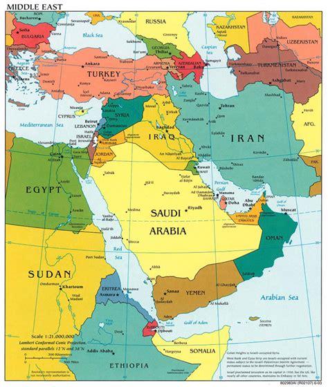 middle east map dubai uae middle east map