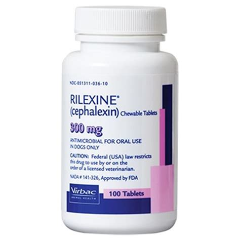 rilexine for dogs rilexine cephalexin chewable for dogs affordable antibiotics allivet
